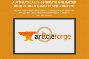 Article Forge Review. All Your Questions Answered