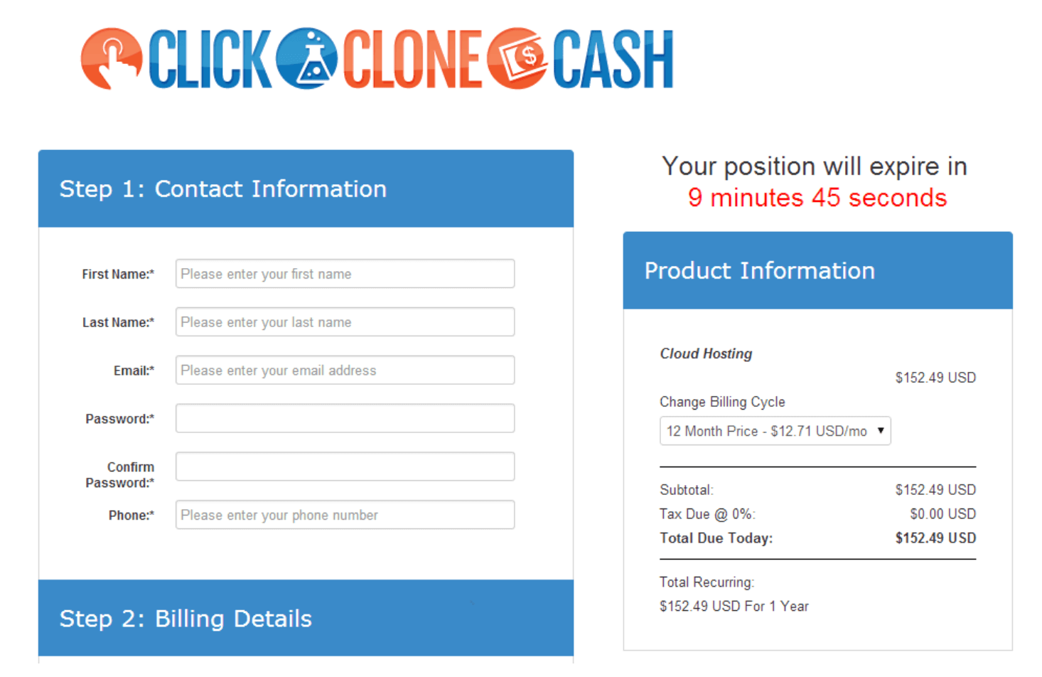 click-clone-cash-registration-form