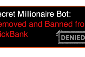 Secret Millionaire Bot – Removed and Banned From Clickbank