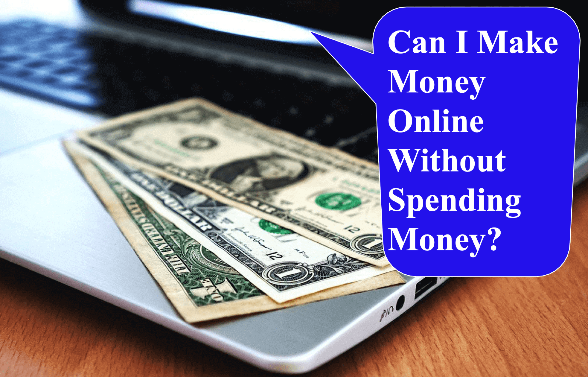 earn money without spending money