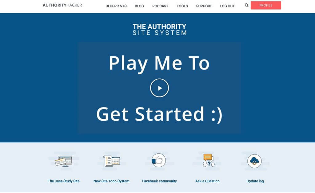 authority site system