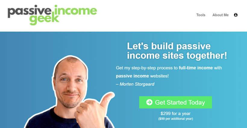 passive-income-geek-website